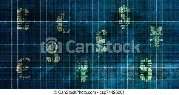 Foreign Exchange Market - csp74426201