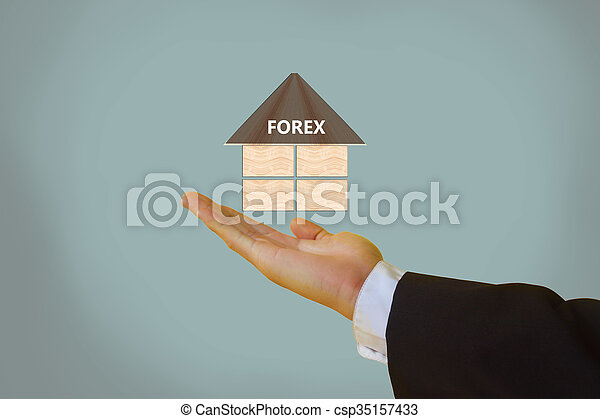 forex or Foreign Exchange - csp35157433