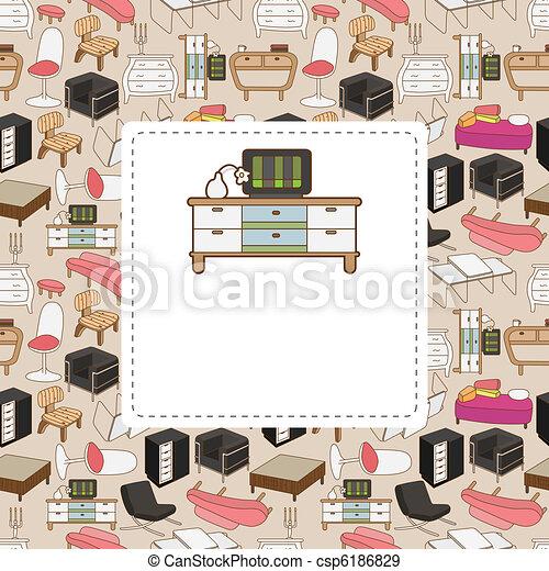 furniture card - csp6186829