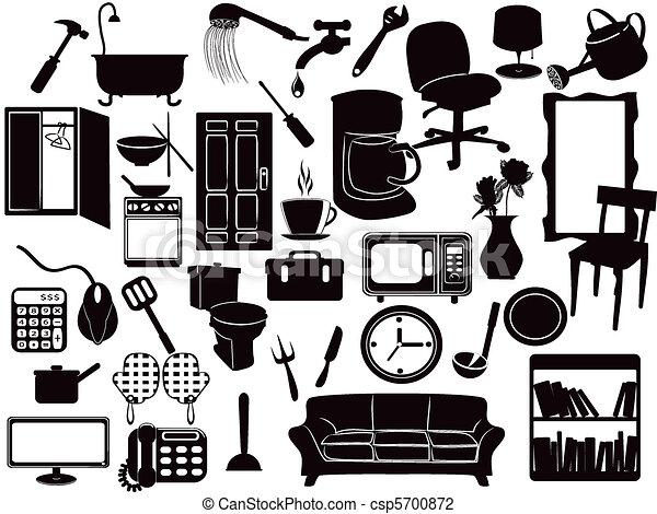 Furniture icons - csp5700872