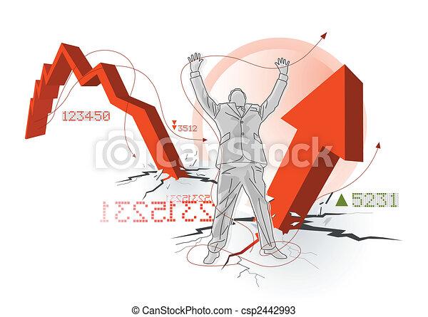 Global Economic Recovery - csp2442993