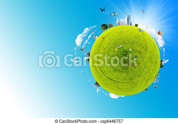 Green world - csp6446757