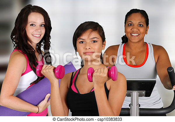 Group Working Out - csp10383833