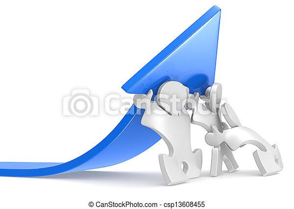 Growth. - csp13608455