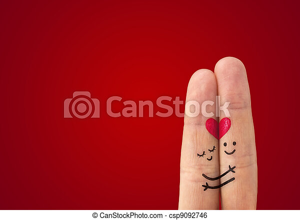 ? happy couple in love - csp9092746