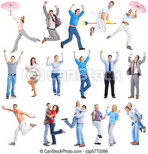 Happy people - csp5770266