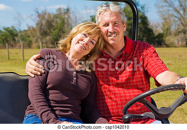 Happy Retired Couple - csp1042010