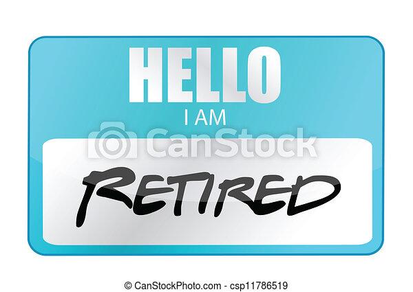 hello I am retired tag - csp11786519