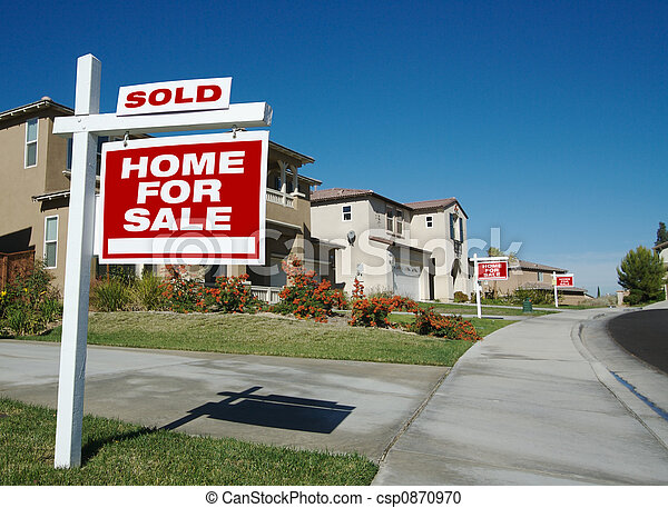 Home For Sale Signs - csp0870970