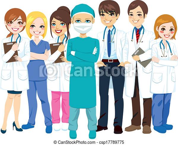 Hospital Medical Team - csp17789775