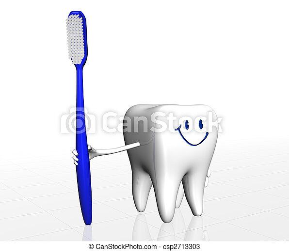 Human tooth - csp2713303