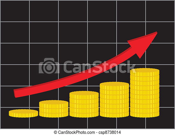 increase of income - csp8738014