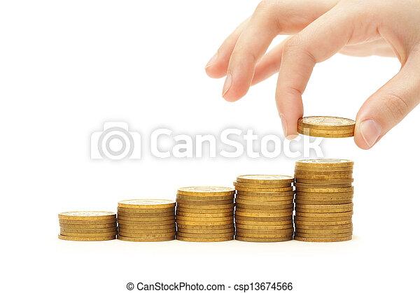 Increase your savings - csp13674566