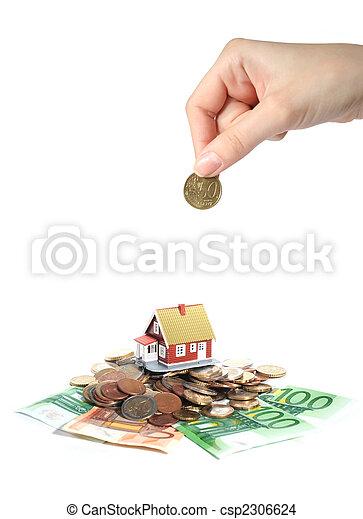 Invest in real estate. - csp2306624
