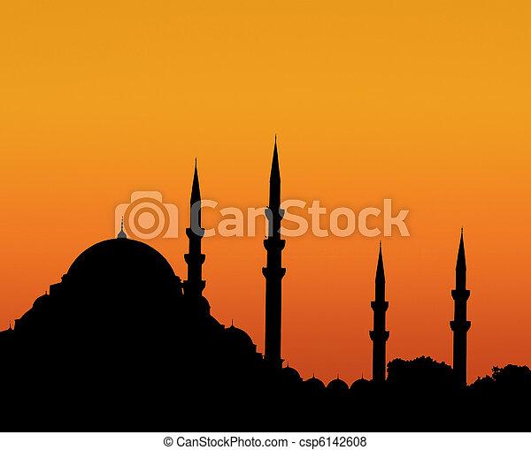 Istanbul sunset - csp6142608