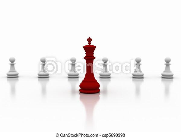 Leadership concept - csp5690398