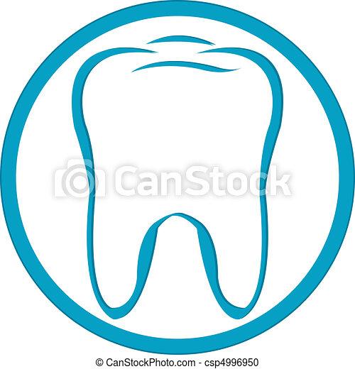 Logo Tooth - csp4996950