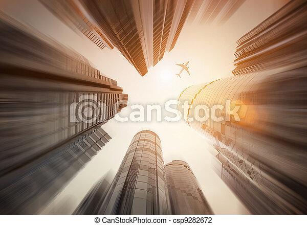 Looking Up - csp9282672