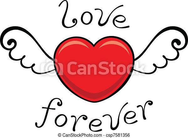 love forever - csp7581356