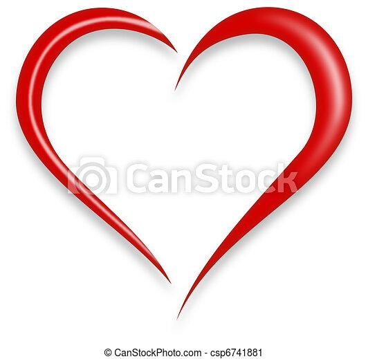 Love Heart - csp6741881