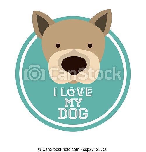 Love pet design - csp27123750