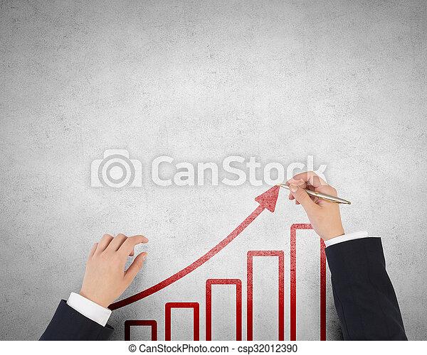 Make your income grow - csp32012390