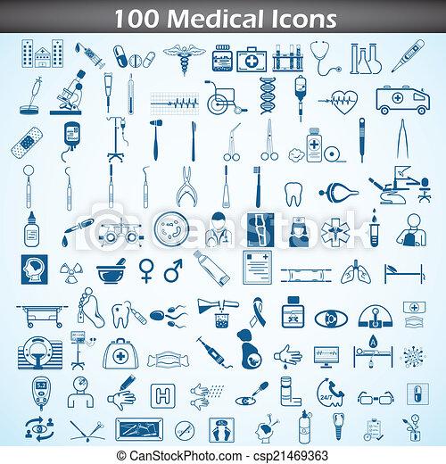 Medical icon set - csp21469363