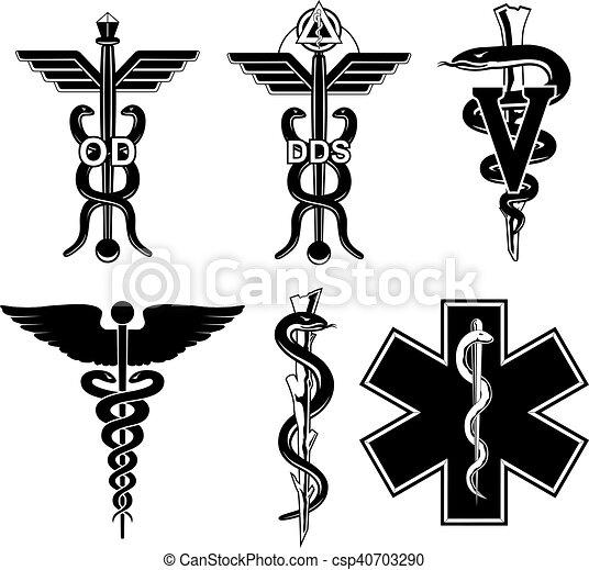 Medical Symbols Graphic - csp40703290