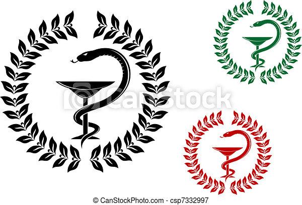Medicine symbol - csp7332997