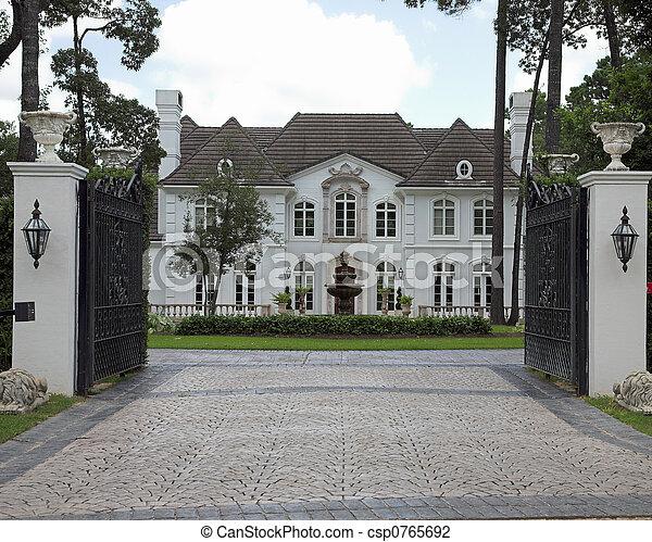 Million Dollar Homes Series - csp0765692