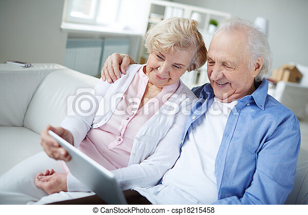 Modern grandparents - csp18215458