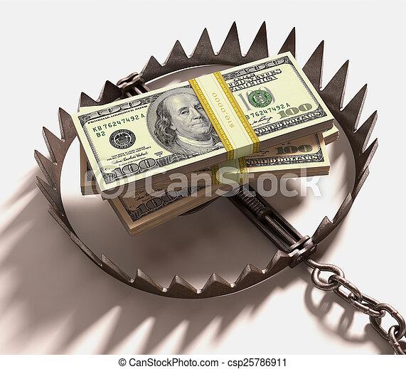 Money Trap - csp25786911