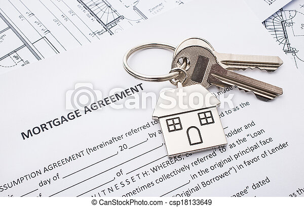 Mortgage loan agreement application - csp18133649