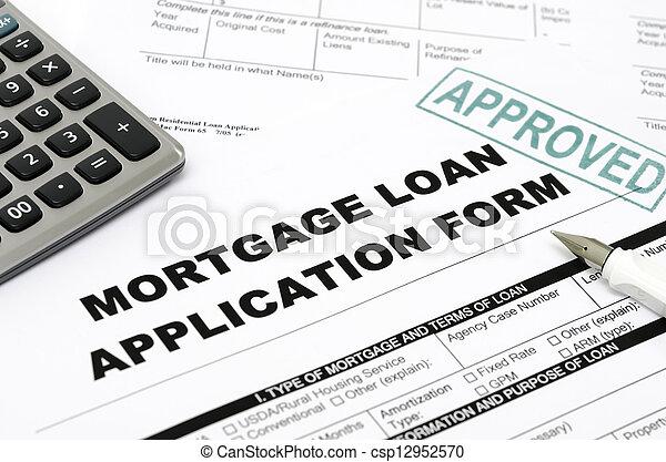 Mortgage loan - csp12952570