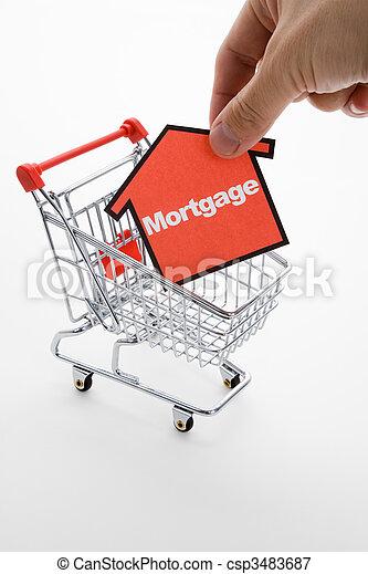 Mortgage shopping - csp3483687
