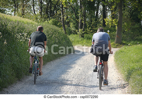 mountainbike ride - csp0072290
