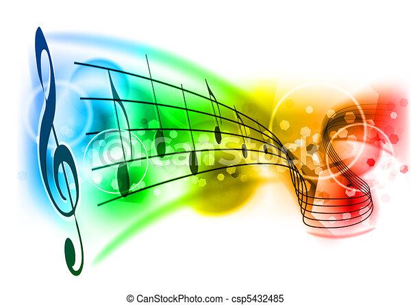 music - csp5432485