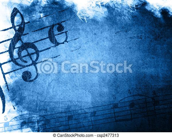 music grunge backgrounds - csp2477313