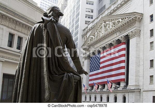 New York Stock Exchange - csp5478978