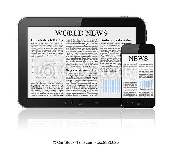 News On Modern Digital Devices - csp9326025