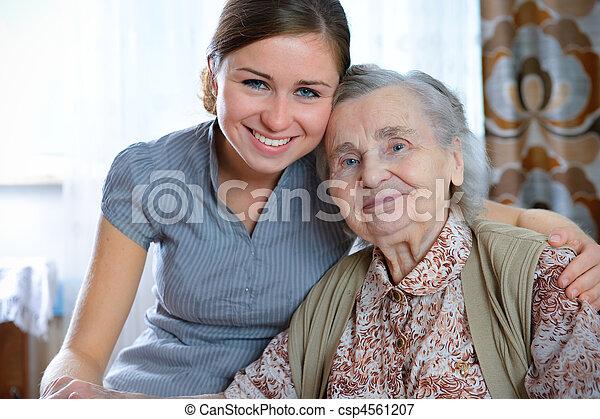 nursing home - csp4561207