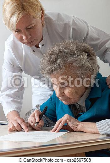 nursing home - csp2567508