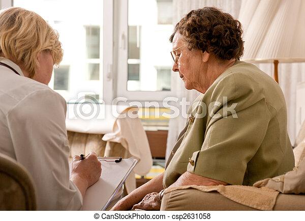 nursing home - csp2631058