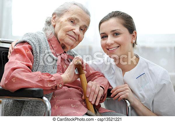 Nursing home - csp13521221