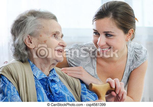 nursing home - csp4561399