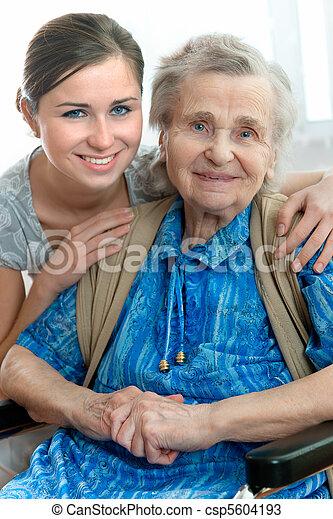 nursing home - csp5604193