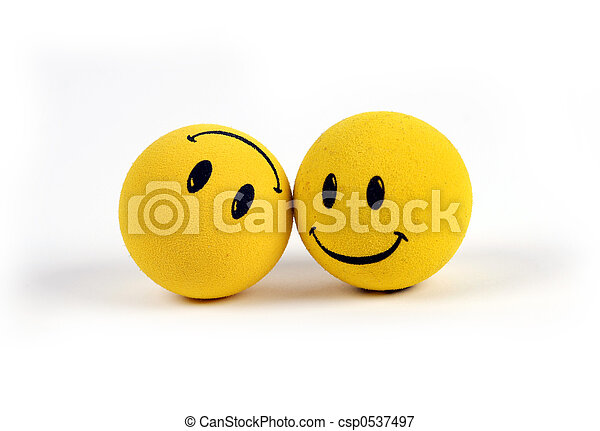Objects - Yellow Smiley Faces - csp0537497