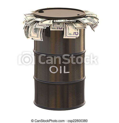 Oil Dollar - csp22800380