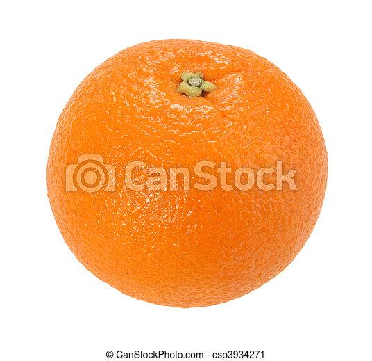 One full orange only - csp3934271