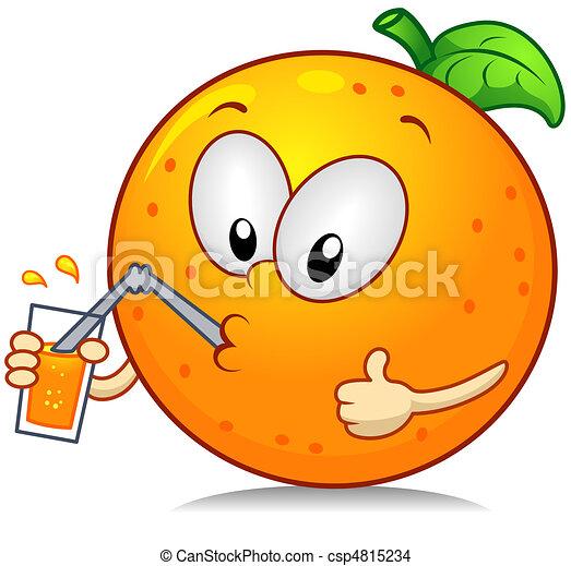 Orange Drink - csp4815234